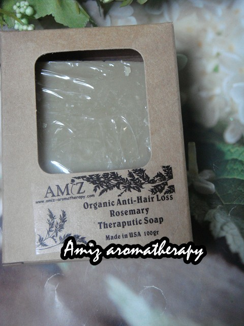 美國有機防脫髮止痕迷迭香藥用手造皂| USA organic anti-hair loss rosemary hand made herbal soap