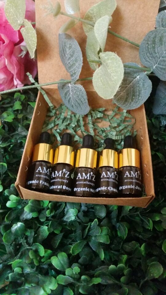 套5(3ML)有機藥用按油| set of 5 (3ml) therapeutic massage oil