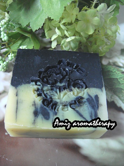 天然深層清潔去油炭皂(加強保濕版)|Deep-clean charcoal hand-made soap(super version for moisturiser)