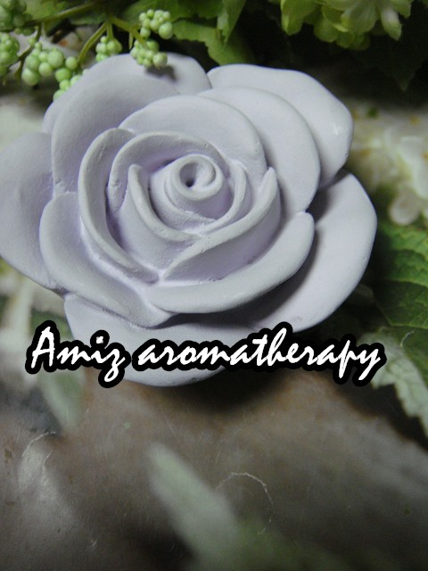 天然紫色玫瑰香薰石|Fancy aroma rose stone in purple