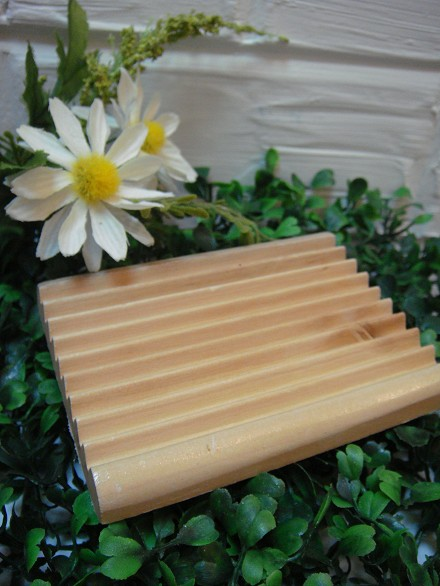 天然木皂碟|natural wooden soap dish