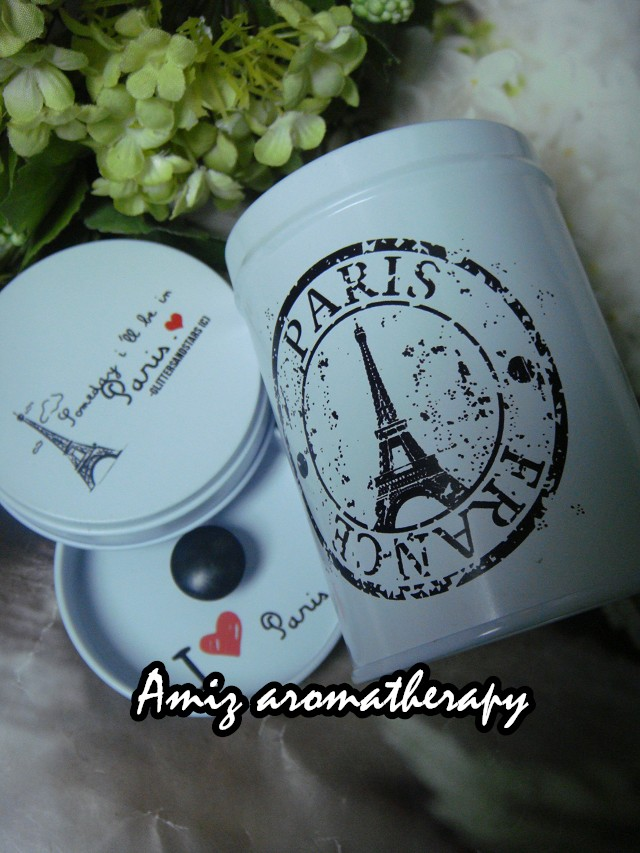 歐陸式花茶罐|fancy tea tin with Paris icon